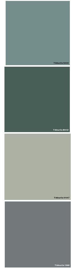 Eteisen värit